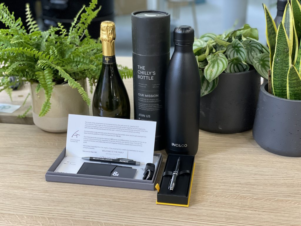 Inc & Co Welcome Gifts